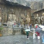 Near the famous Longmen Grottos