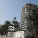 hotel from beach side