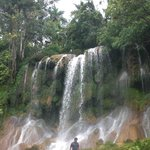 El Nicho Waterfalls
