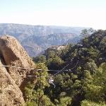 Take the zip-line for best canyon views