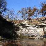 Minneopa State Park - river bed