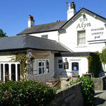 The Alyn Pub from Station Road