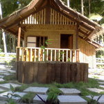 One of our native style Cottages