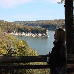 Over look at the gorgeous Summersville Lake