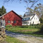 Entrance to Robert Frost House