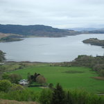 Melfort House, over looking Loch Melfort