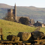 Hawes from the Pennine Way