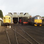 Southern diesels on shed