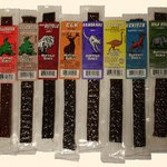 different flavors of jerky