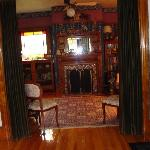  Libby house parlor and fireplace