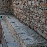  Roman Toilets that had running water
