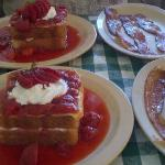 Stuffed French Toast Special! YUM!!