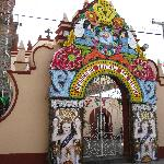 The Acatepec and Santa Maria Tontzintla Churches made for an fascinating excursion by  taxi.