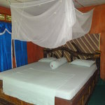 Room with good mosquito net