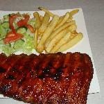 The rib portion