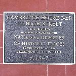 The Cambridge House resmi