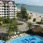 View fr my room- Bayu Beach Resort PD