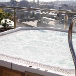  The rooftop jacuzzi