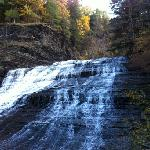 Buttermilk falls Elmira road hwy 13 entrance - a must see.