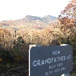 One of the overlooks to Grandfather Mountain.