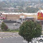 You could see Bob Evans, Texas Roadhouse, and Wal-Mart from our window. You could easily walk th