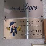  The 3 star signage at the front of the Hotel