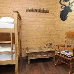  The log cabin inspired dorm room