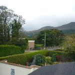 View from room over the Mournes