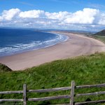 SeeWales Tours at Rhossili Bay