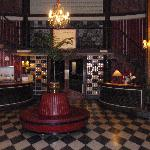 Entrance hall of hotel
