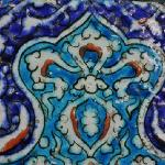 Tiles used in the decoration