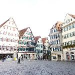  The market square in Tubingen