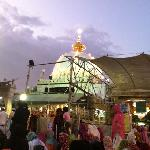 Ajmer dargah in the evening