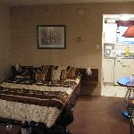  Our room (Rm 104) You can see kitchenette