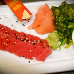 yellowfin tuna sashimi