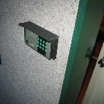  Digital door keypad