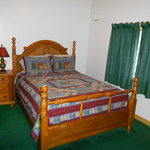 Bedroom # 3 at Eagles Lodge