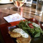Crab Cakes and Chardonnay