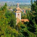  Dubovac castle: view from the castle hill