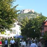 From the main square, Staufen