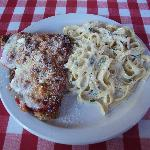  Veal Parm with Fett/Alfredo