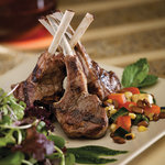 Grilled Churro Lamb Chop Salad