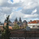  view from our window of Rijks