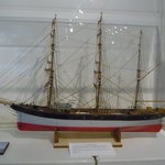 Replica of an early ship