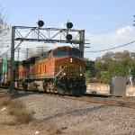 Eastbound BNSF Double Stack Train