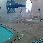 The hot tub was Hot! and pool heated! Thanks! 8)