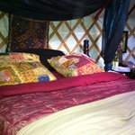 Foto de Sopley Lake Yurt Camp