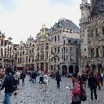 Brussels Old Town Center