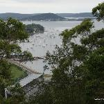 Blue Tongue Stadium viewed from President Hill Lookout