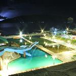 night view / pool side